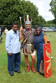 Aimen, Nimat, and a Roman soldier