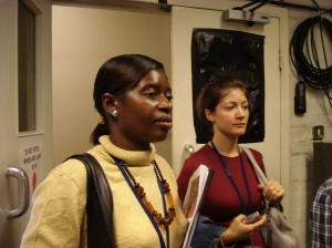 Gilda and Fatma in Conservation and Scientific Research