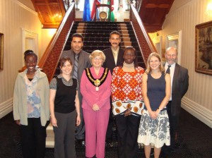 This was taken during my UK Partner Museum placement in Cardiff, where we had an audience with the Mayor.