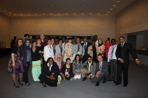 The ITP team after the event
