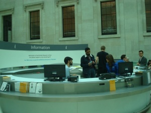 Shadowing Visitor Services at the Information desk