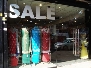 Indian clothing shop