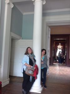Esther and Esra at Kenwood House.