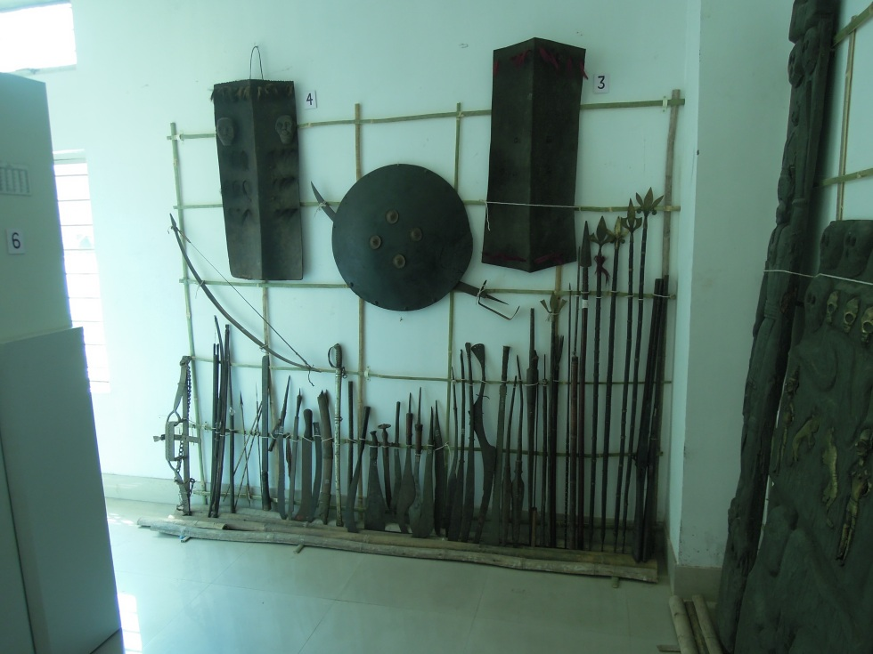 Collections storage at Assam State Museum